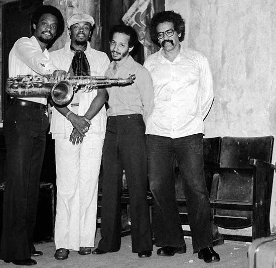 Chico Freeman, Don Moye, Jay Hoggard and Rick Rozie
