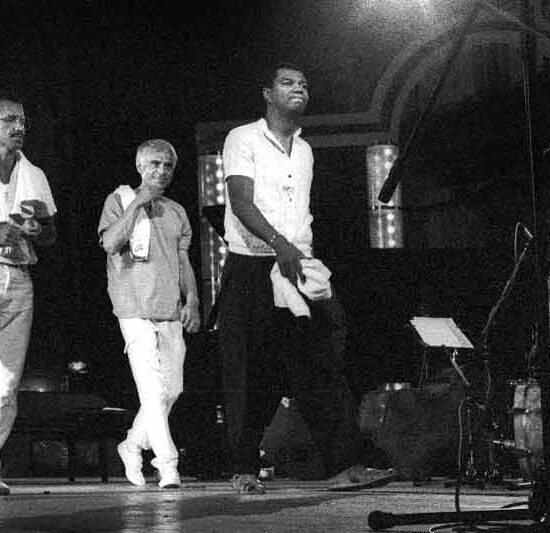 Keith Jarret with Gary Peacock, Jack DeJohnette in Lugano