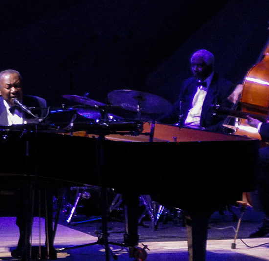 "Freddy Cole plays in Moscow in ""The House of Music"" theater"